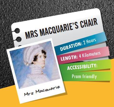 Explore Mrs Macquaries Chair