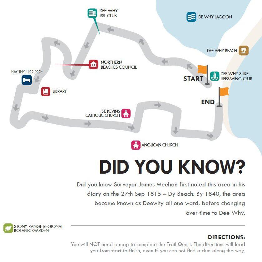 Dee Why Walking Map